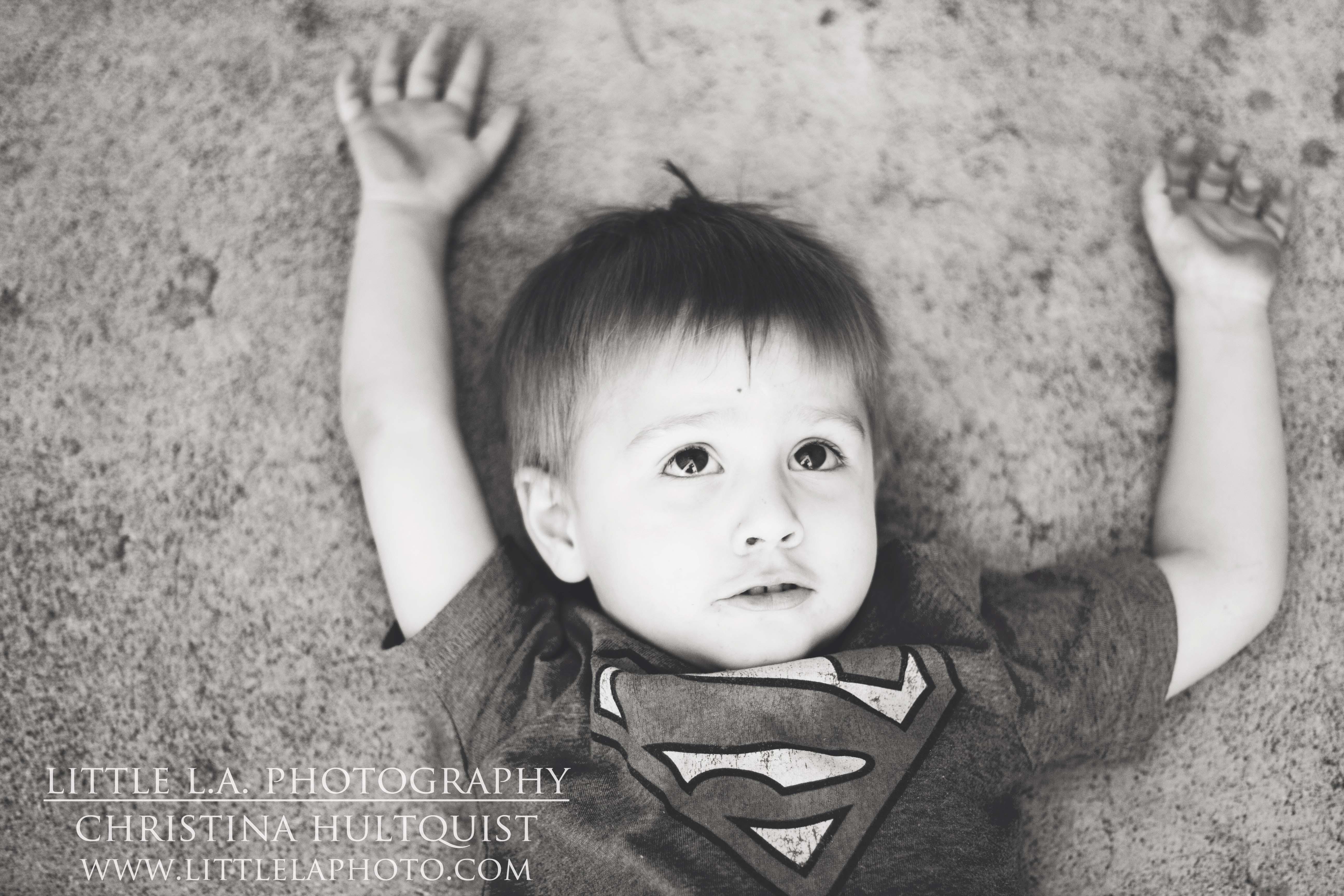 super man kids photography los angeles