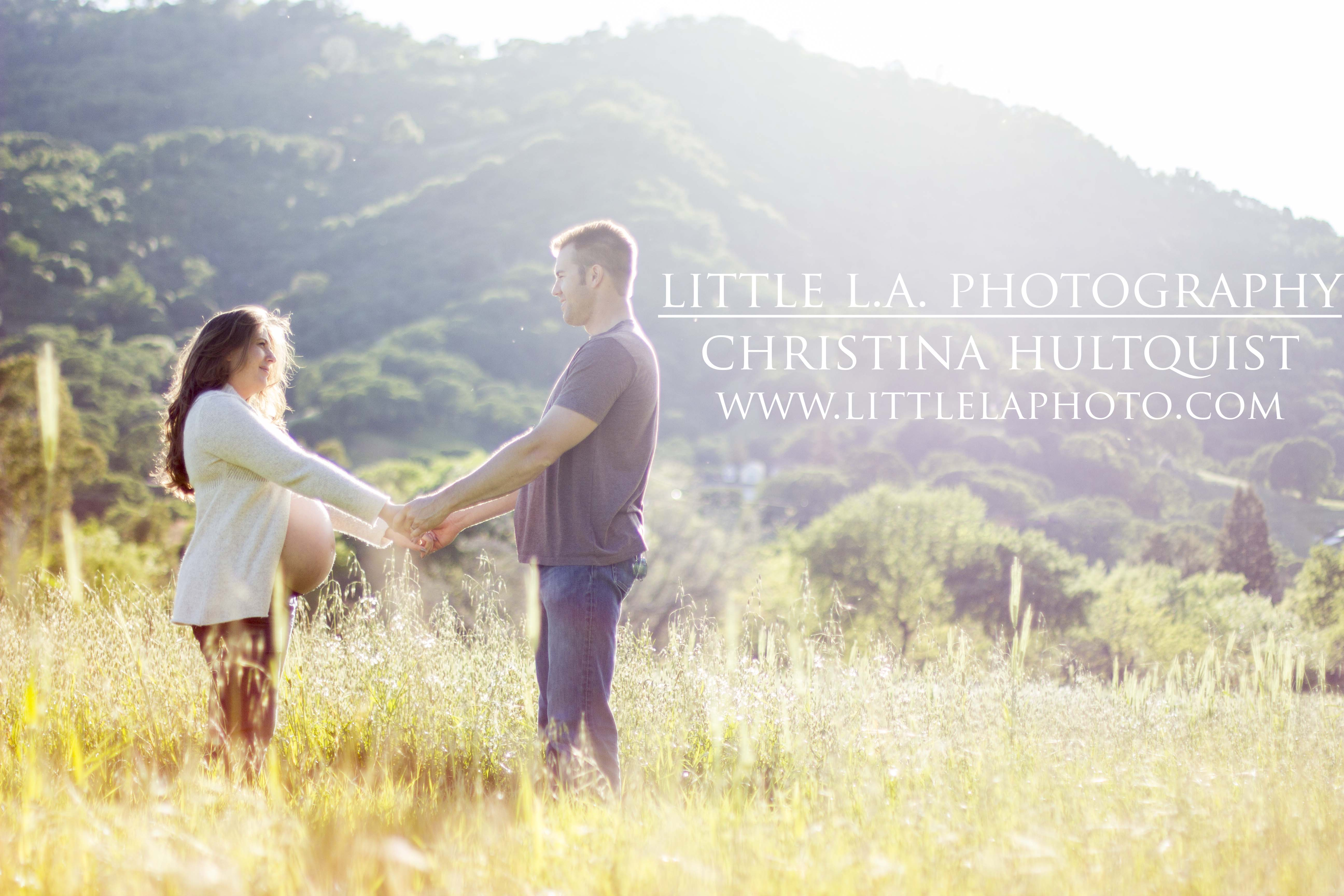 field maternity pictures la vacaville
