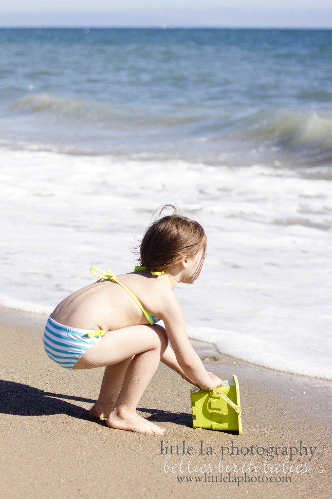 la beach family photography