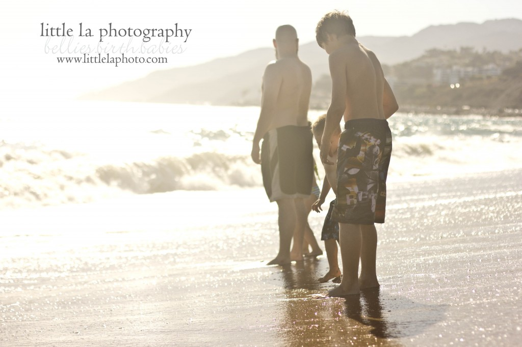 la family beach