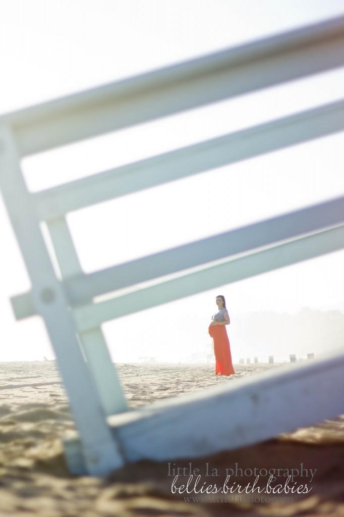 pregnant beach la