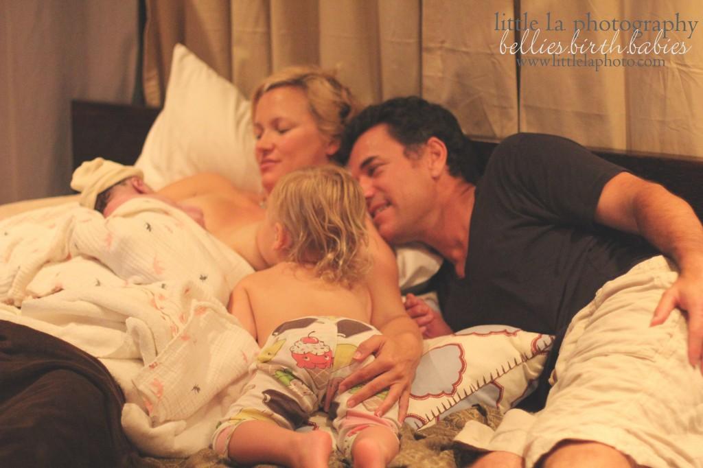 tandem nursing after birth photography