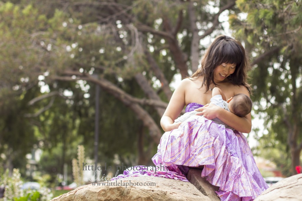 los angeles breastfeeding photos