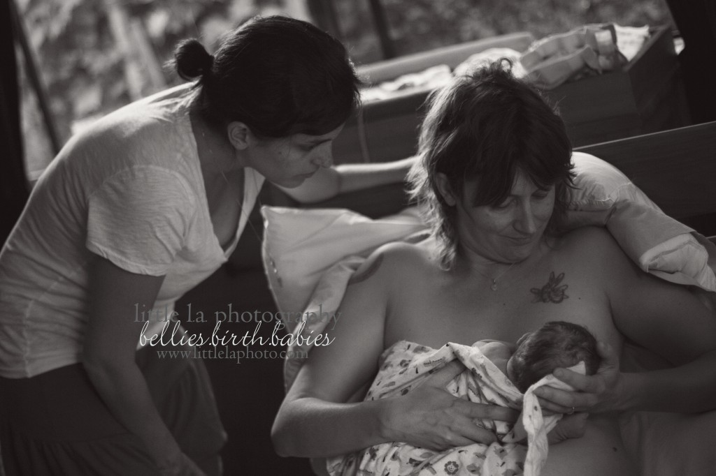 two doula birth breastfeeding support los angeles