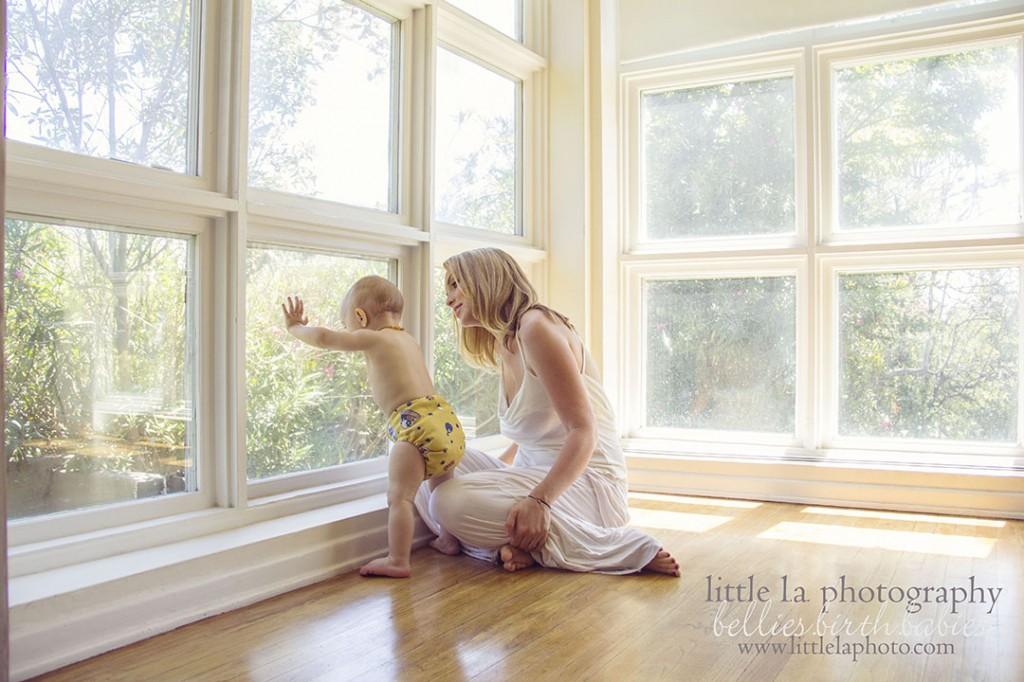 photographing motherhood los angeles
