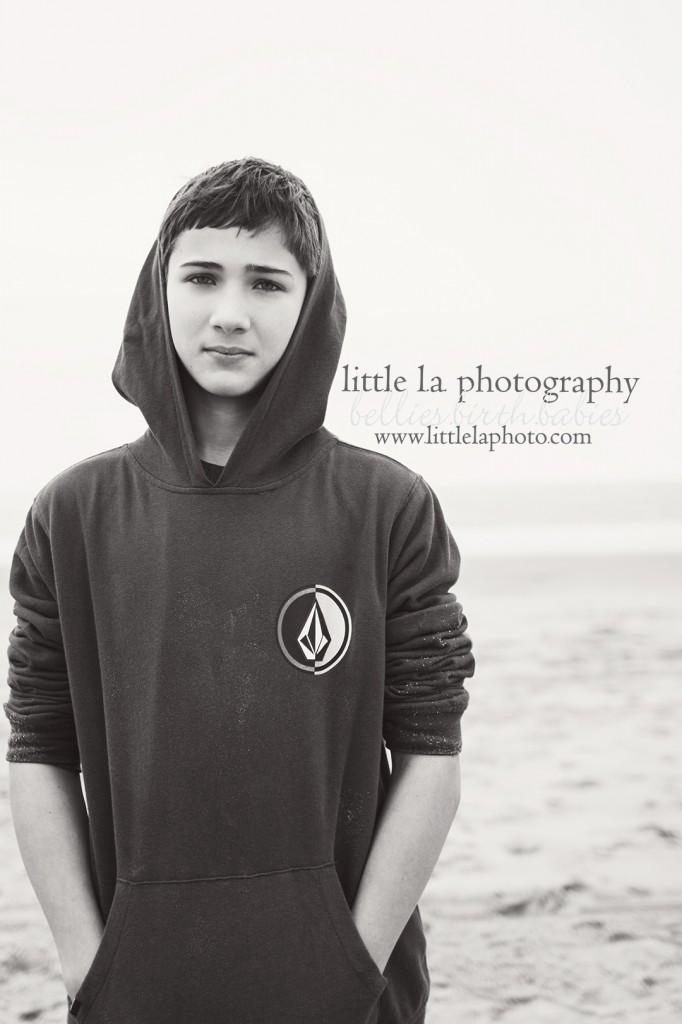 teens beach model