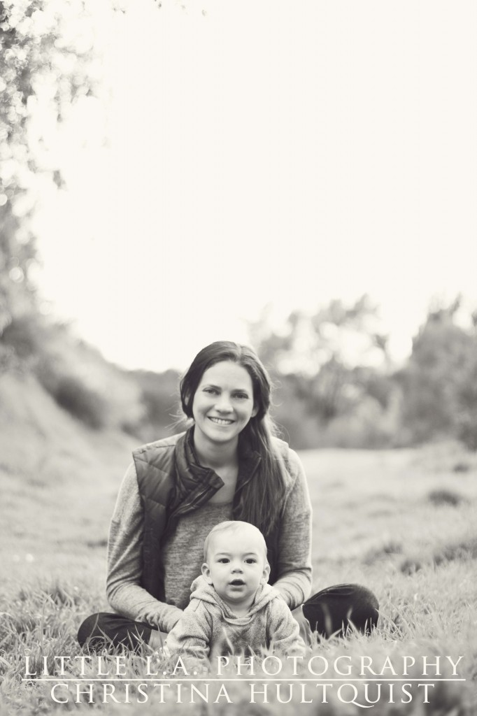 LA mom and baby photography