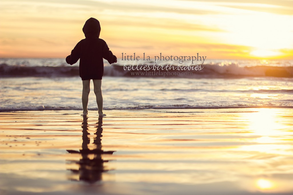 backlit sunset beach photography los angeles