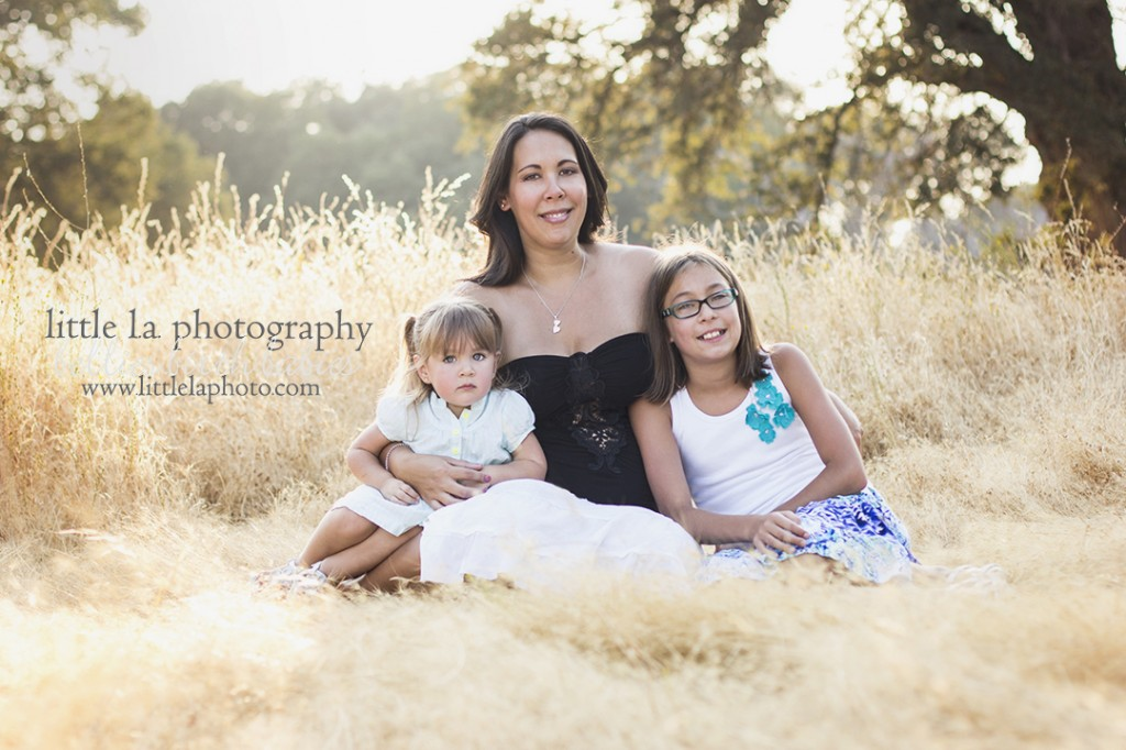 mother and daughters photography la roseville california