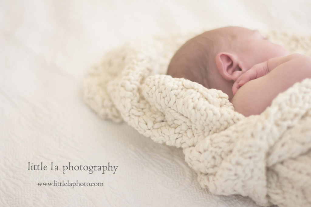 newborn details los angeles baby photographer