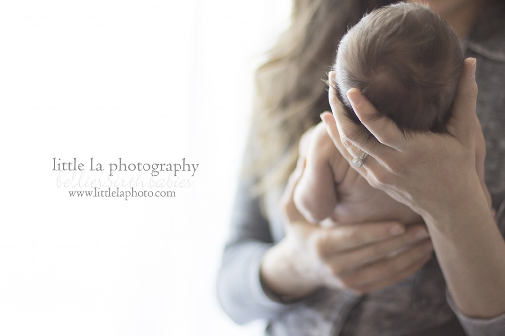 LA newborn photographer beverly hills