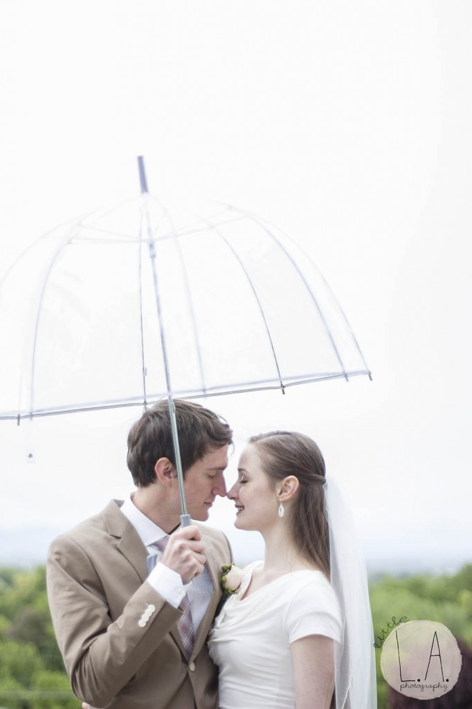 clear umbrella wedding photos rain