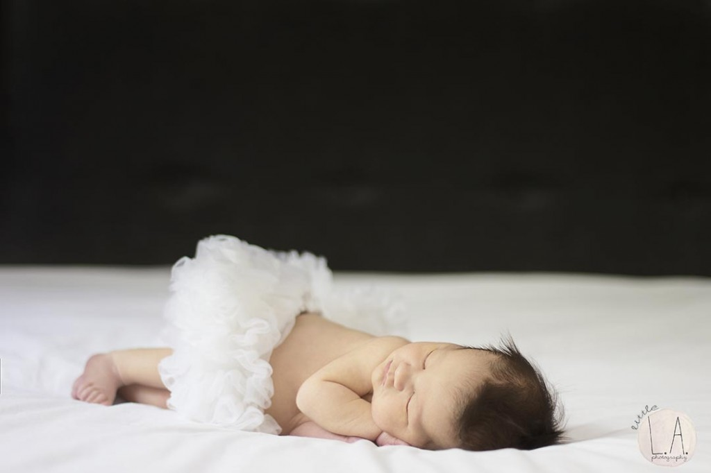 tutu ballerina newborn photos la