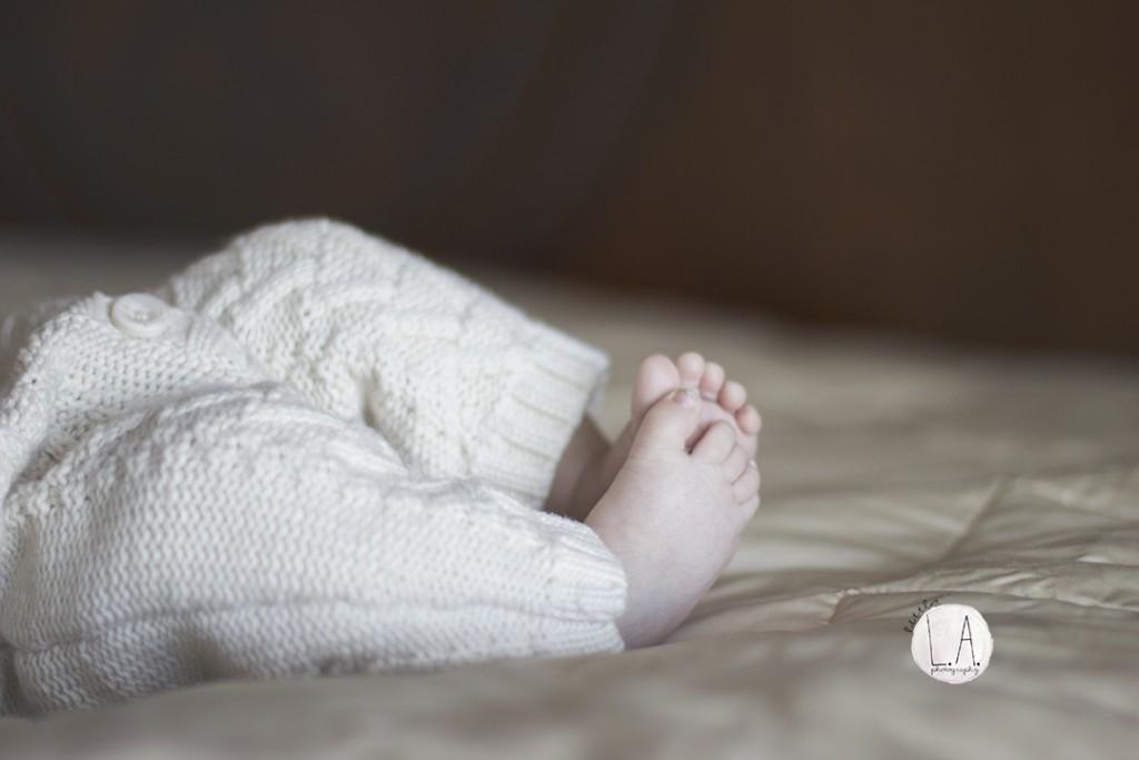 tiny baby feet la