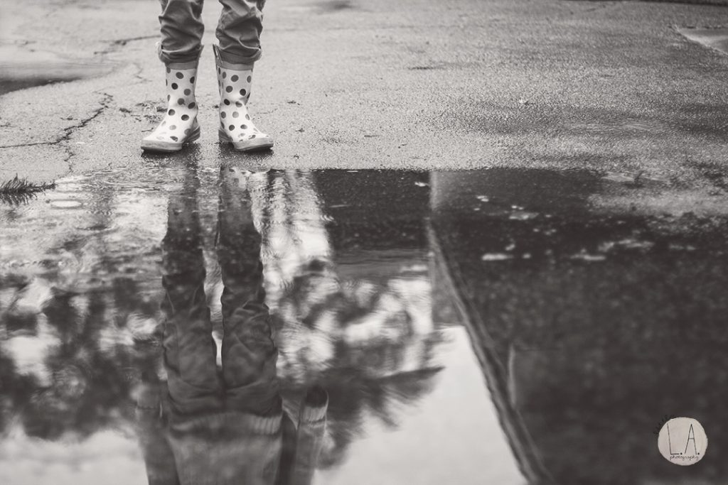 black-and-white-reflection-photography